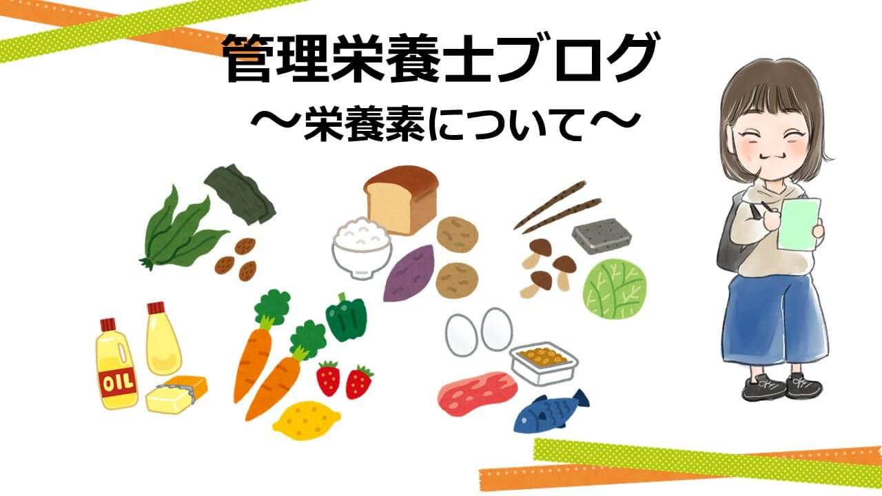 タンパク質の栄養|はたらきや食べ物